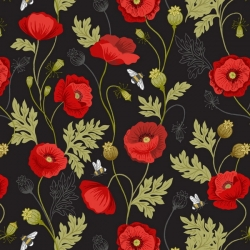 Lewis & Irene Poppies A553-3