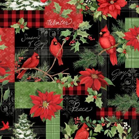 Wilmington Christmas Cardinal print 39700 937
