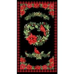 Wilmington Christmas Cardinal Panel 39698 937