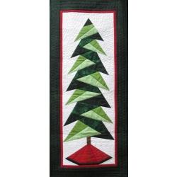 A little bit shorter tall tree quilt kit from Creations