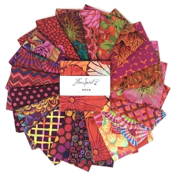 Kaffe Collective Pre-cuts 5 Inch Squares Equator