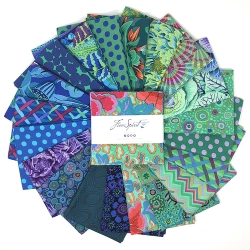 Kaffe Collective Pre-cuts 5 Inch Squares Ocean