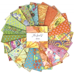 Kaffe Collective Pre-cuts 5 Inch Squares Parakeet
