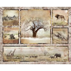 3 Wishes Global Luxe Panel 18005 Multi