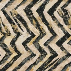 3 Wishes Global Luxe Zebra Zig Zag 18009 Black