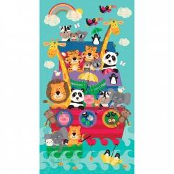 Clothworks Noah & Friends Panel Y3331-56