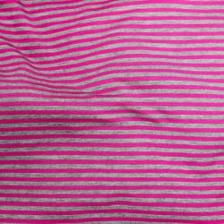 Telio Bamboo Stripe Knit Magenta/Grey