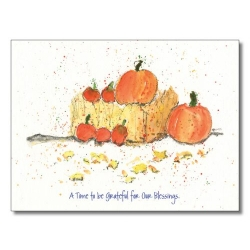 Peg Conley Thanksgiving Card H8050