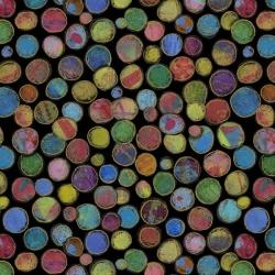 Free Spirit Fabrics Sue Pen PWSP032 Black