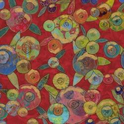 Free Spirit Fabrics Sue Pen PWSP034 Redk