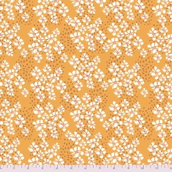 Free Spirit Fabrics Boho Blooms PWKK025 gold