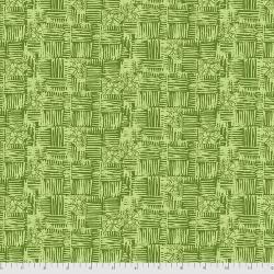 Free Spirit Fabrics Boho Blooms PWKK026 Green