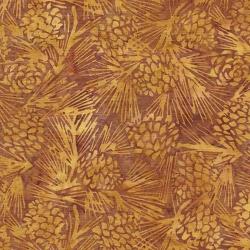 Island Batik Cotton Pinecones 122013055