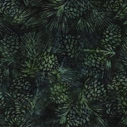 Island Batik Cotton Pinecones 2013562