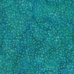 Island Batik Cotton Teal Berries 2015561
