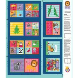 Clothworks Noah & Friends Soft Book Y3332 56